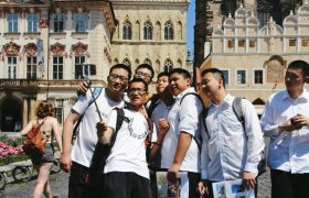 Čínští studenti na návštěvě v ČR